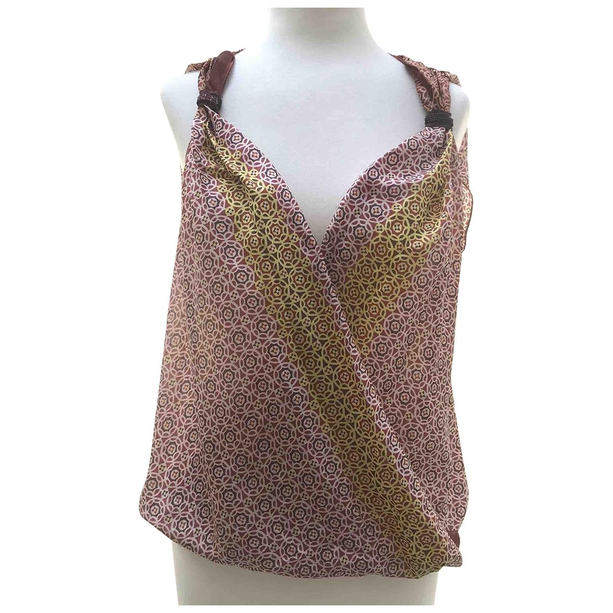 Rozae Nichols - Top   pour femme en soie - multicolore