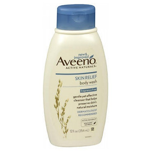 Aveeno Active Naturals Skin Relief Body Wash Fragrance Free 12 oz by Aveeno