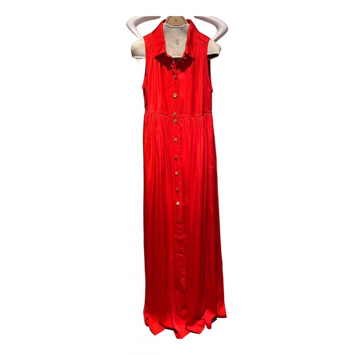 Alexander Terekhov \N Kleid in  Rot Seide