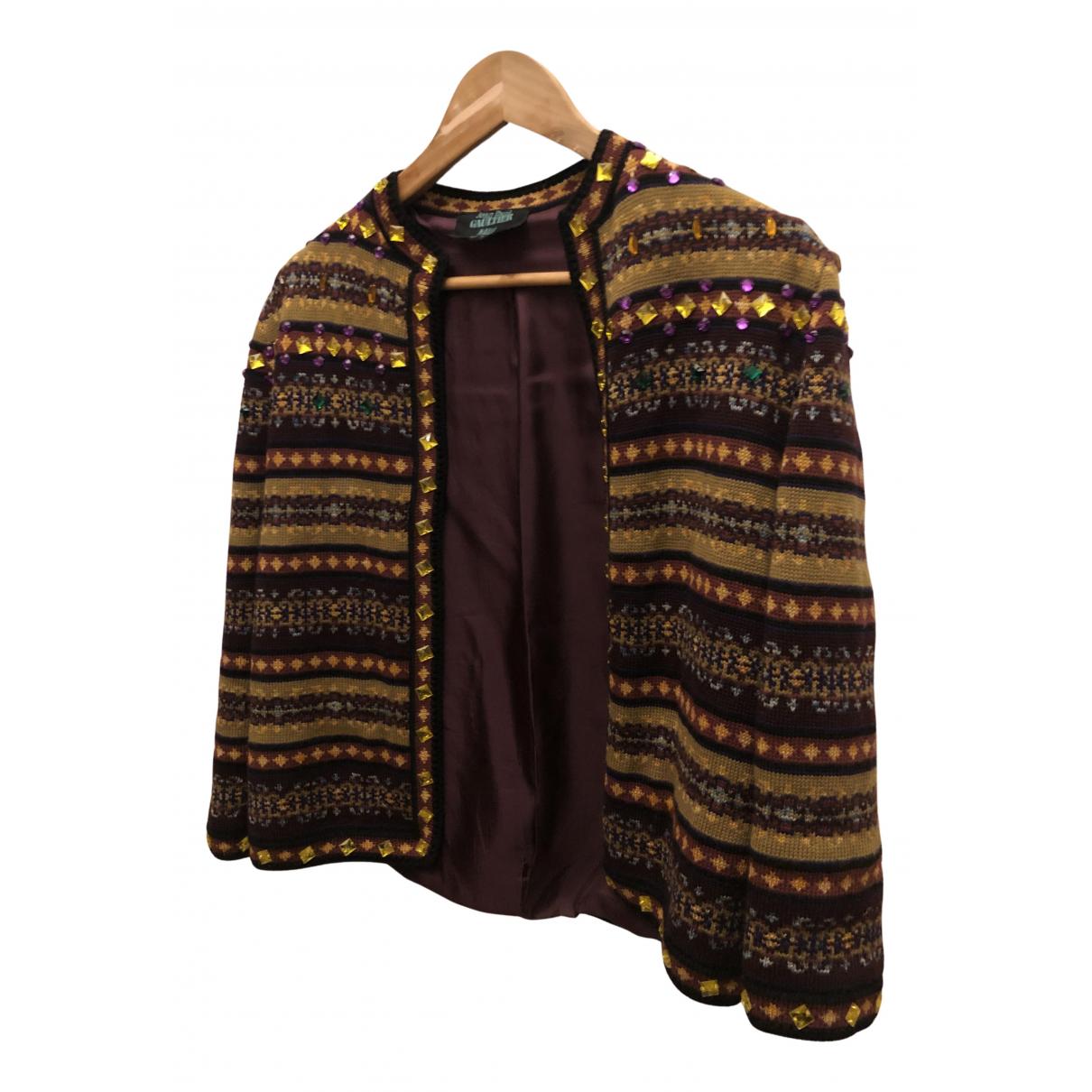 Jean Paul Gaultier - Pull   pour femme en laine - violet