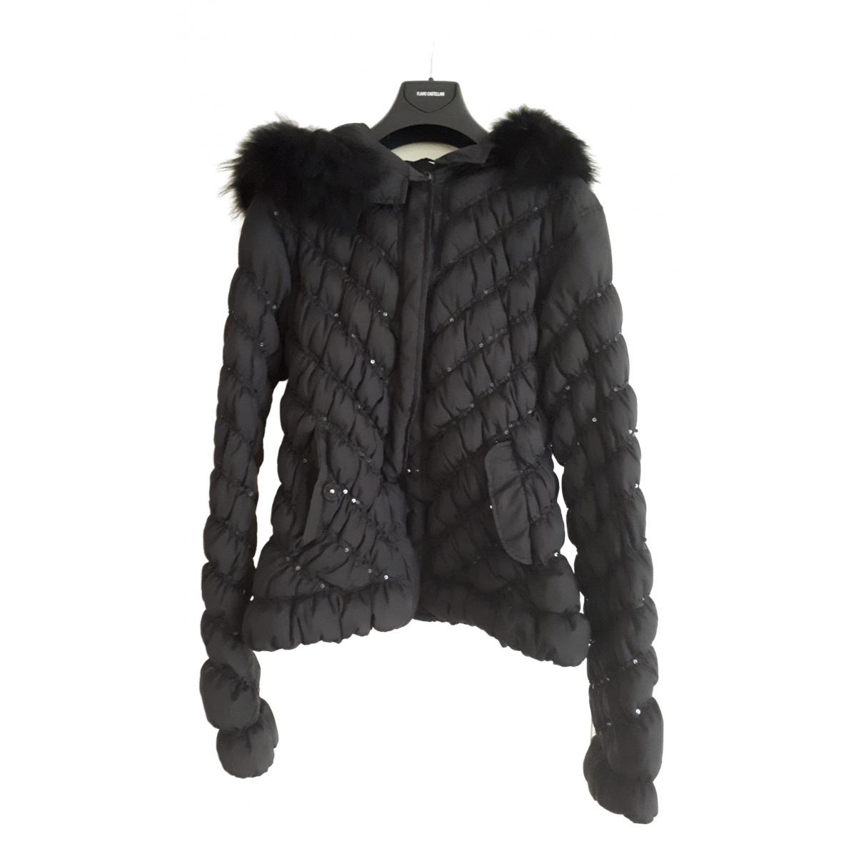 Versace Jean - Manteau   pour femme - noir