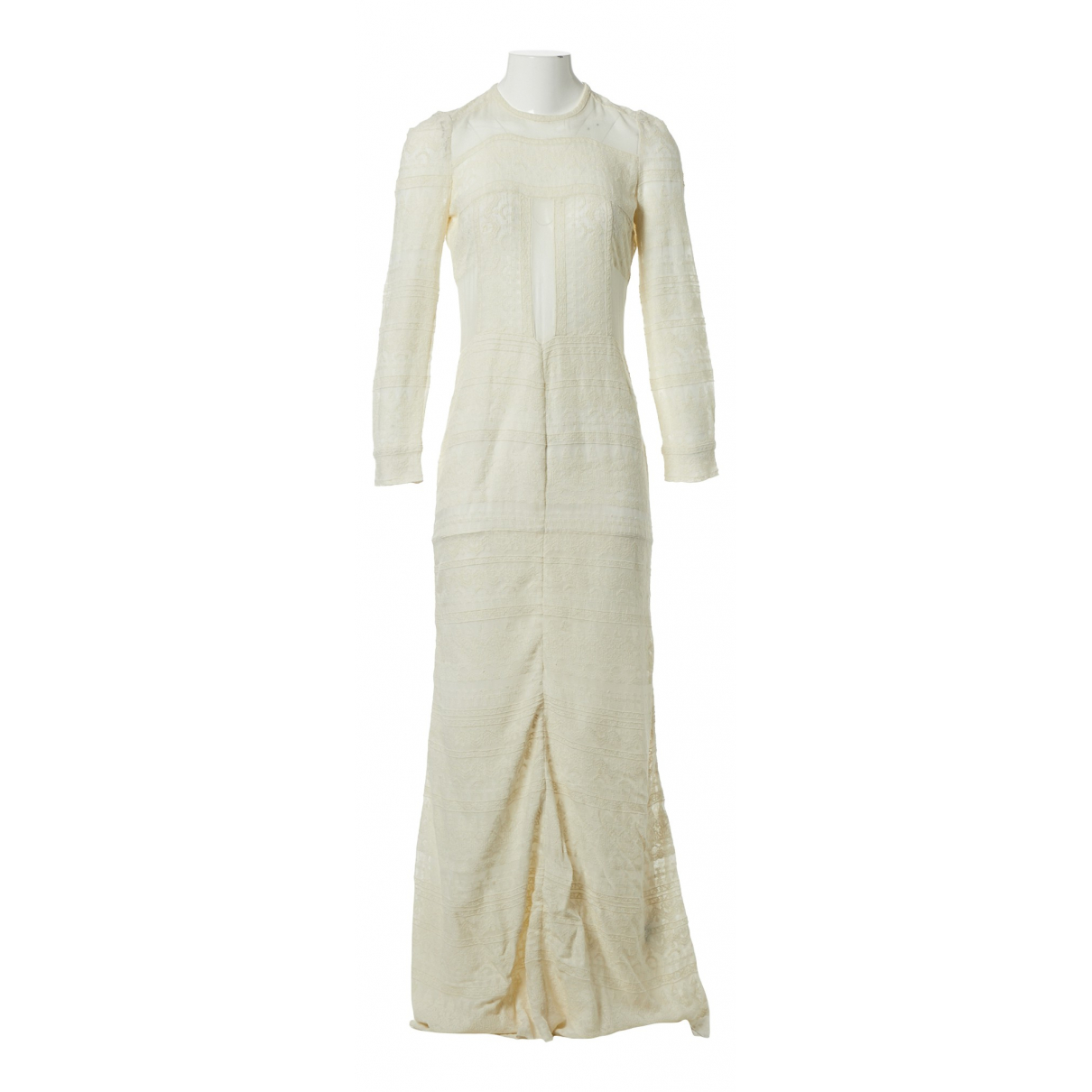 Isabel Marant \N Kleid in  Ecru Viskose