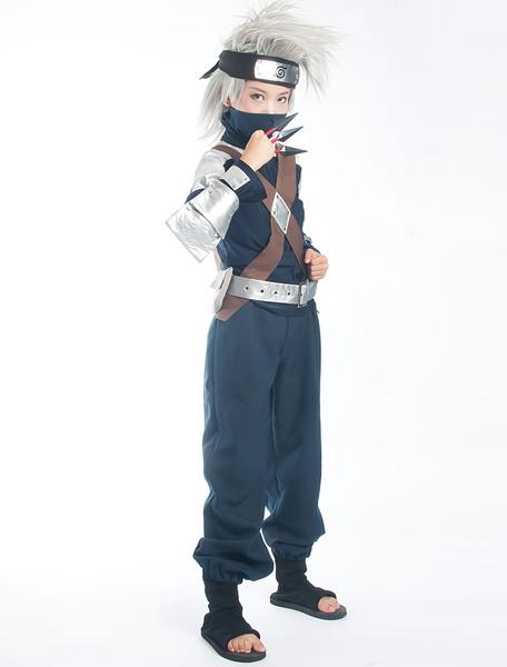 Milanoo Halloween Naruto Hatake Kakashi Halloween Cosplay Costume