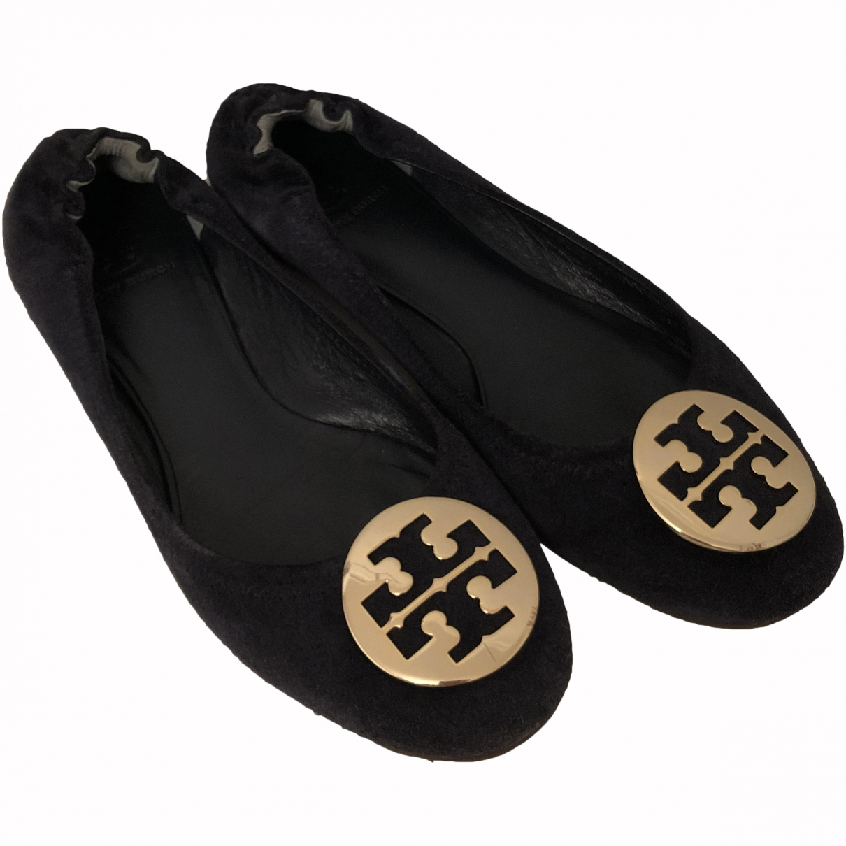 Tory Burch \N Navy Suede Ballet flats for Women 8.5 US