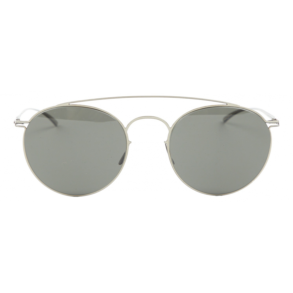 Maison Martin Margiela N Silver Metal Sunglasses for Women N