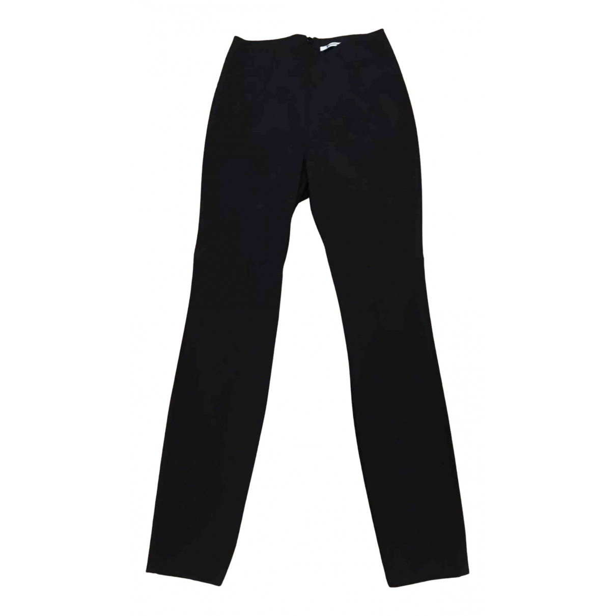 T By Alexander Wang N Black Trousers for Women 4 US