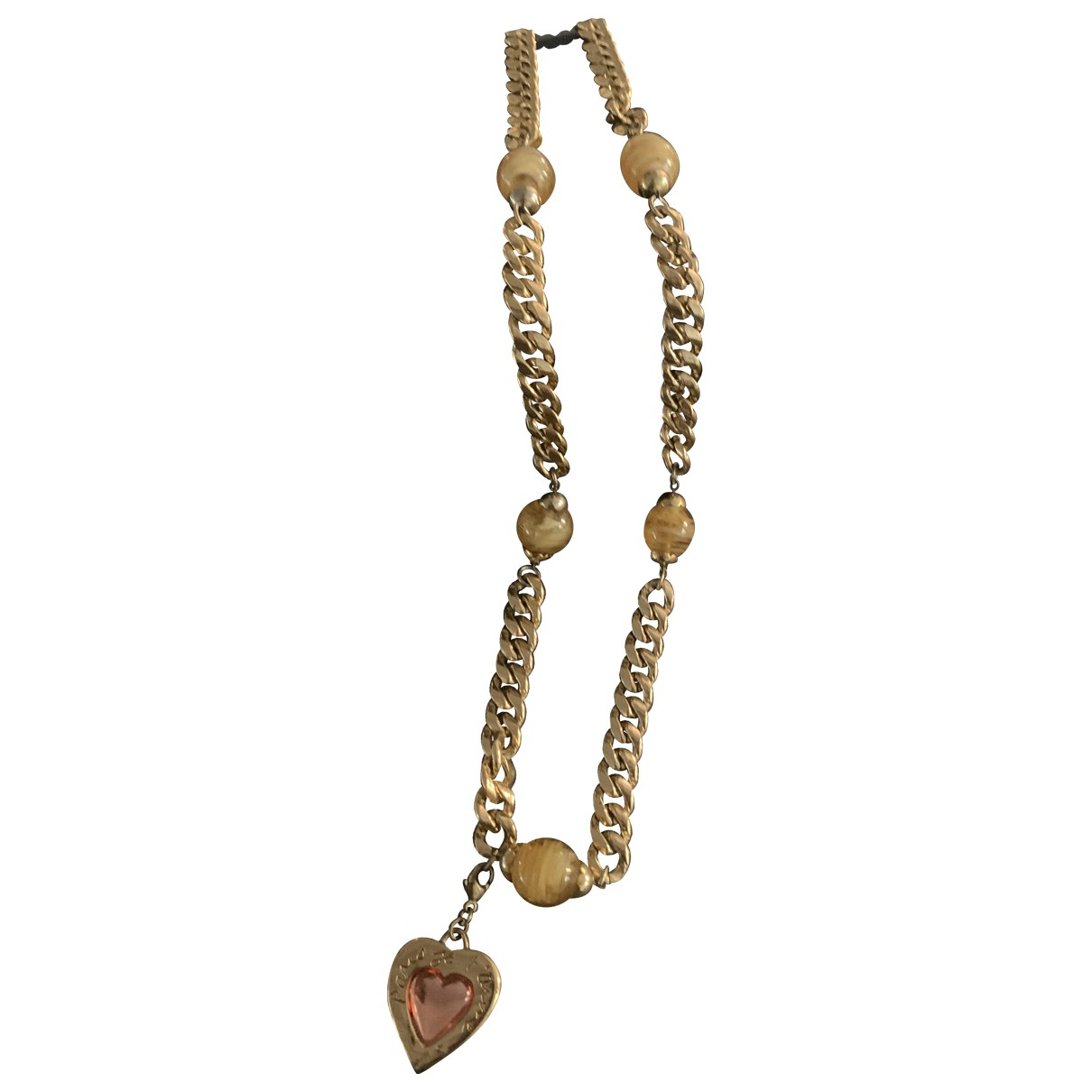 Yves Saint Laurent \N Halskette in  Gold Metall
