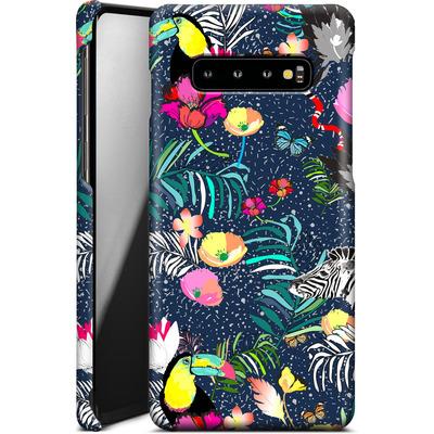 Samsung Galaxy S10 Plus Smartphone Huelle - Jungle Glow von Mukta Lata Barua