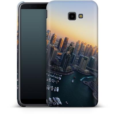 Samsung Galaxy J4 Plus Smartphone Huelle - Dubai Skyline von Omid Scheybani