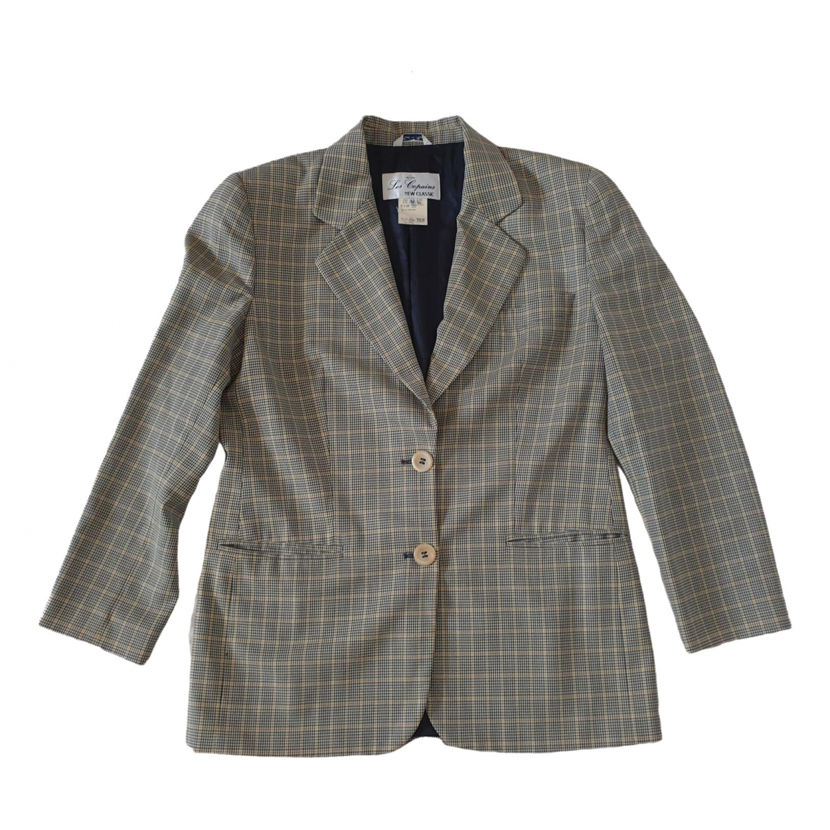 Non Signé / Unsigned \N Multicolour Wool jacket for Women 42 IT