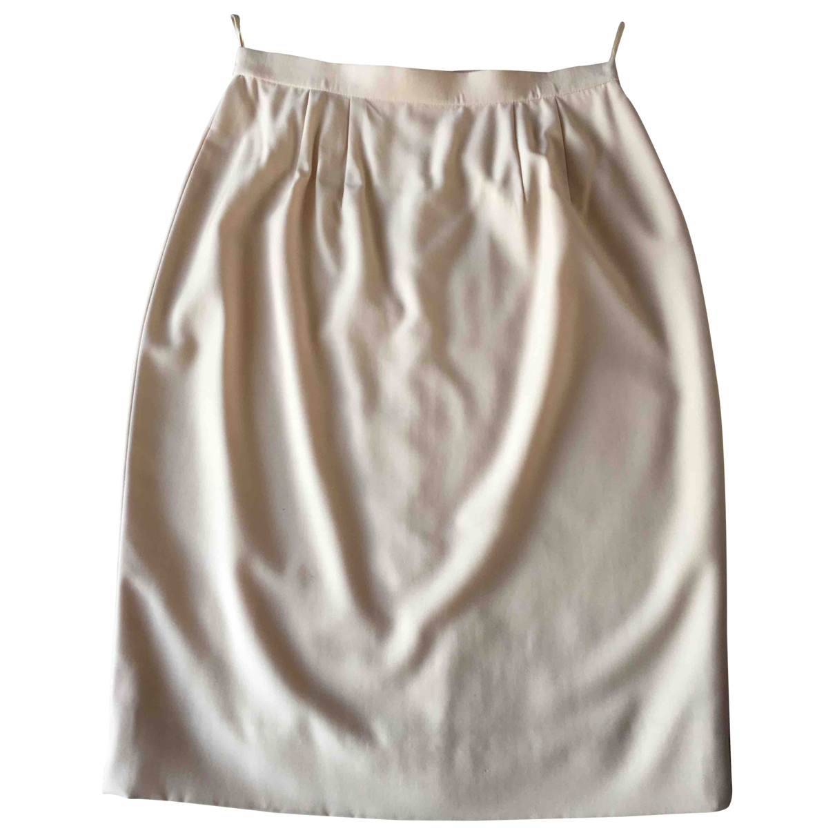 Karl Lagerfeld - Jupe   pour femme en laine - beige
