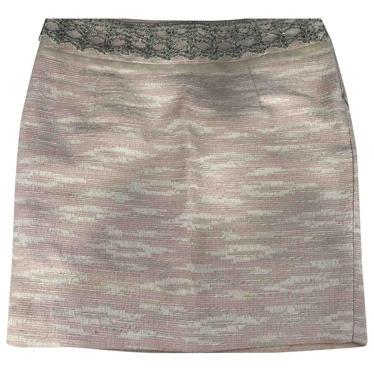 D&g - Jupe   pour femme en coton - rose