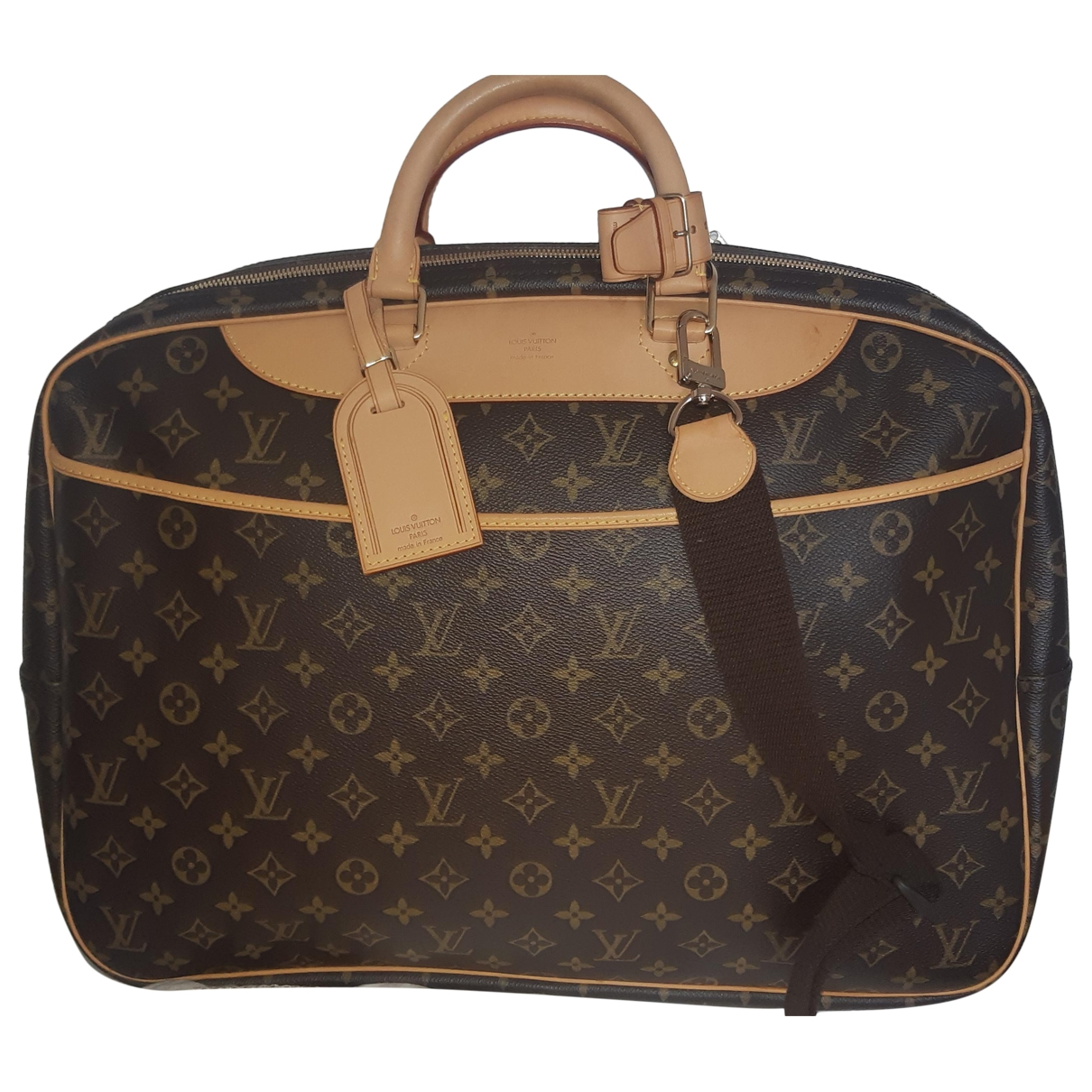 Louis Vuitton Deauville Brown Leather Travel bag for Women \N