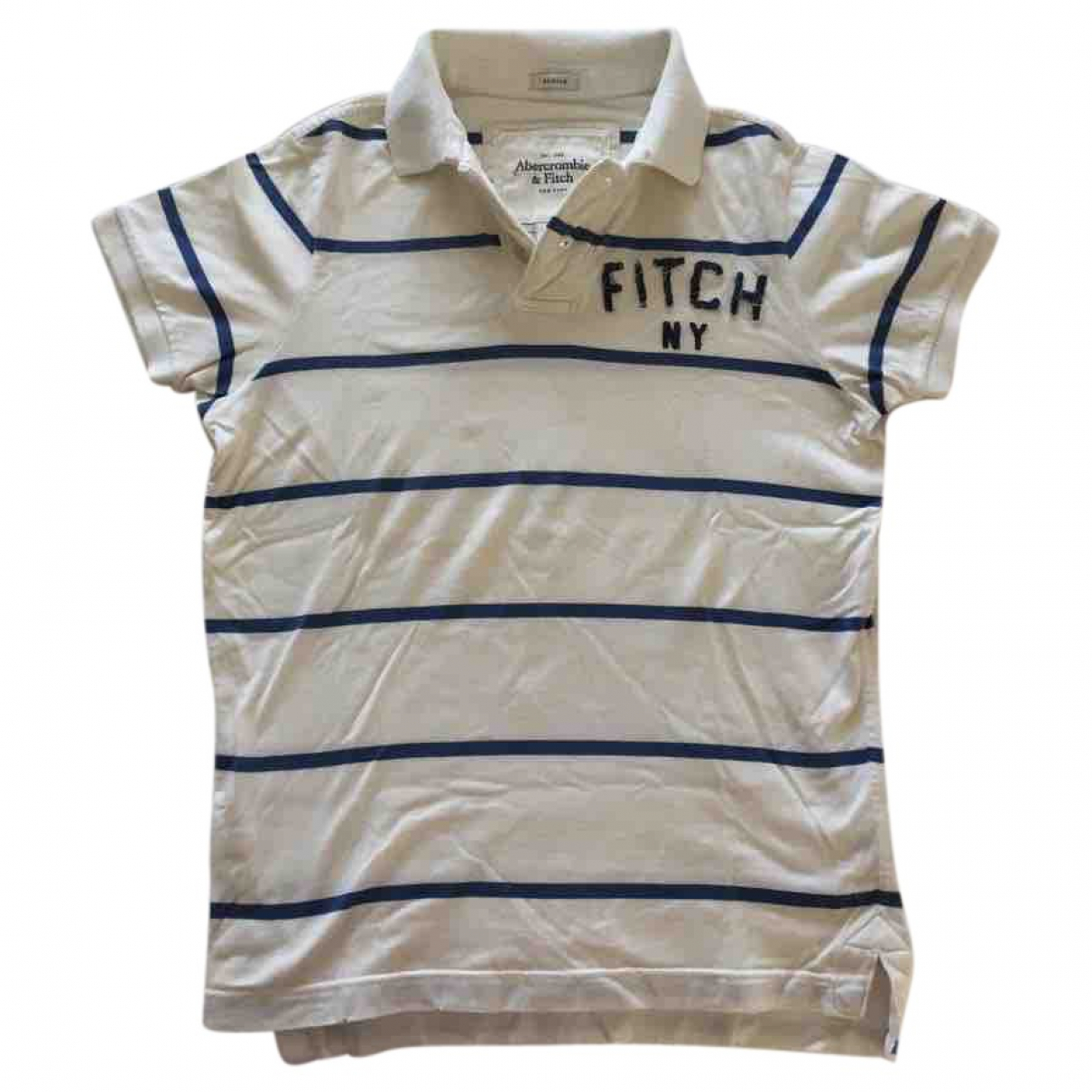 Abercrombie & Fitch \N White Cotton Polo shirts for Men S International