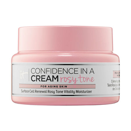 IT Cosmetics Confidence In A Cream Rosy Tone, One Size , Multiple Colors