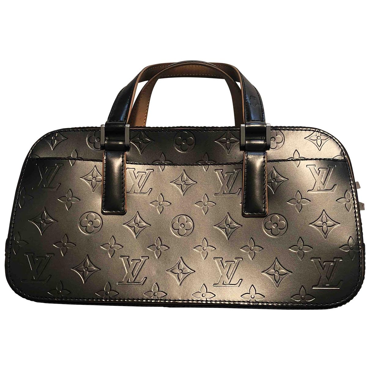 Louis Vuitton \N Black Leather handbag for Women \N