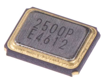 Epson 25MHz Crystal ±50ppm SMD 4-Pin 3.2 x 2.5 x 0.7mm (5)