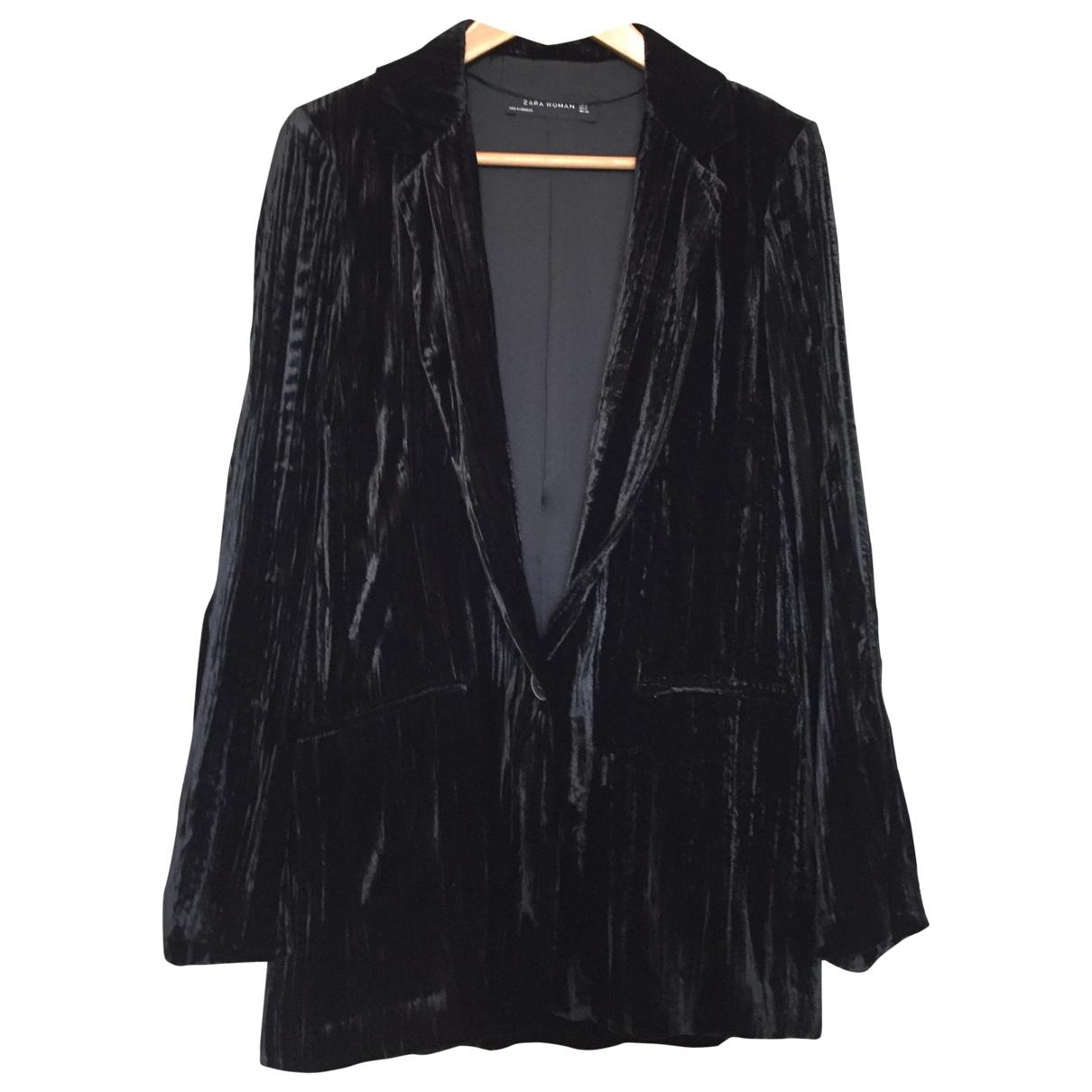 Zara \N Black Velvet jacket for Women S International