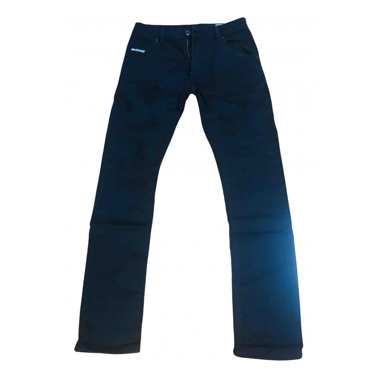 Diesel - Pantalon   pour enfant en coton - noir