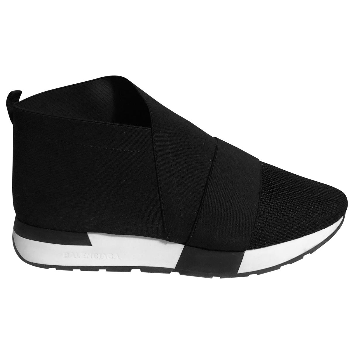 Balenciaga \N Sneakers in  Schwarz Polyester