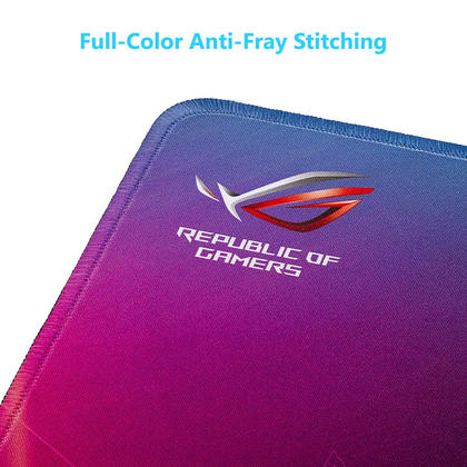 "Asus ROG Strix Edge Vertical Anti-Fray Gaming Mousepad, 15.7"" x 17.7"""