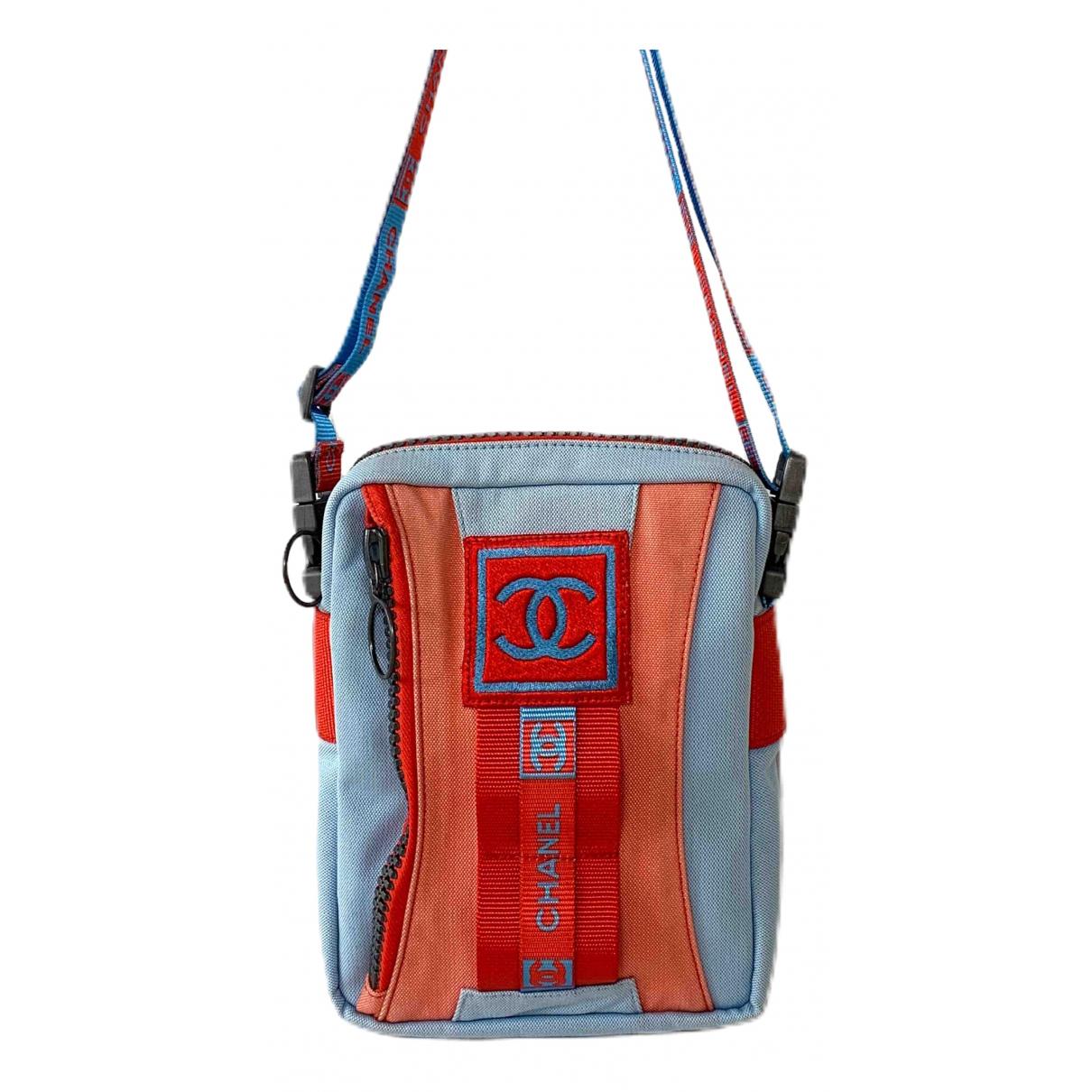 Chanel \N Blue Cloth Clutch bag for Women \N