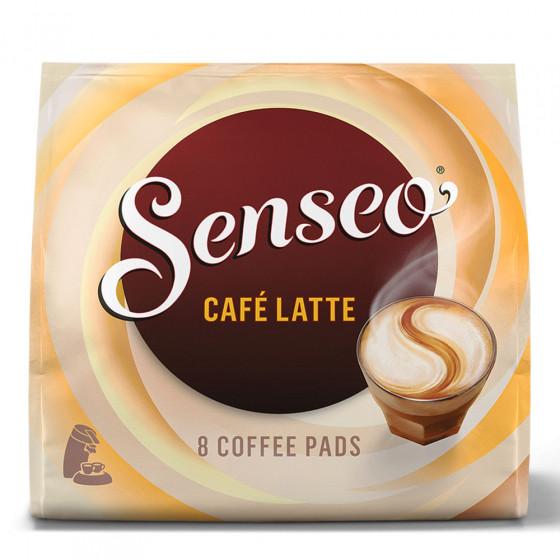 Senseo Kaffee-Pads Jacobs-Douwe Egberts LT Cafe Latte, 8 Stk.