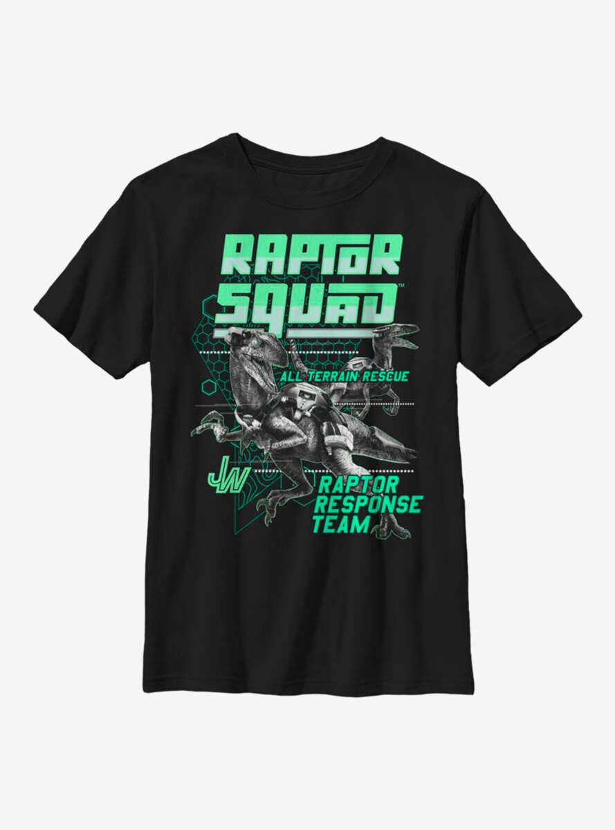 Jurassic World Tech Squad Youth T-Shirt