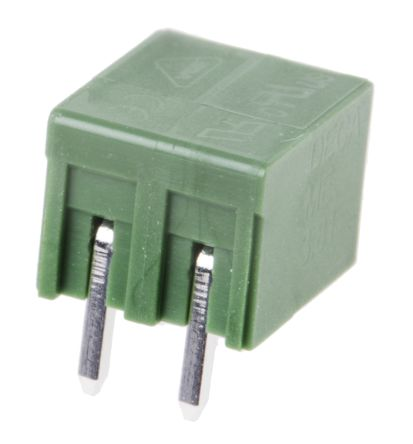RS PRO , 2 Way, 1 Row, Straight PCB Header (5)