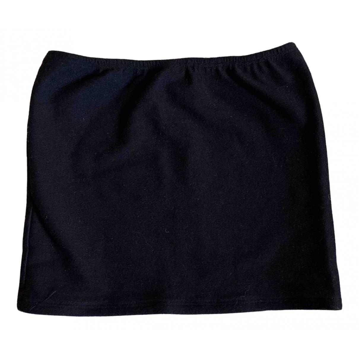 Posse - Top   pour femme en coton - noir