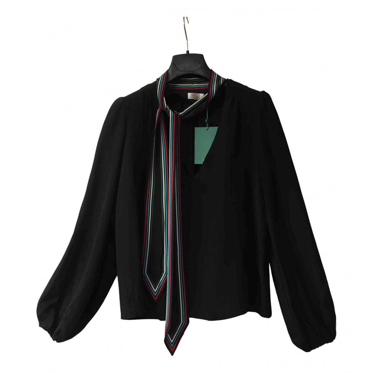 Rixo N Black Silk  top for Women S International