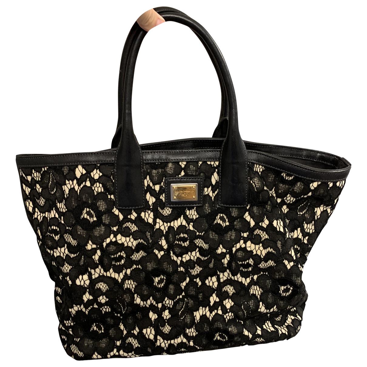 Dolce & Gabbana N Black Cotton handbag for Women N
