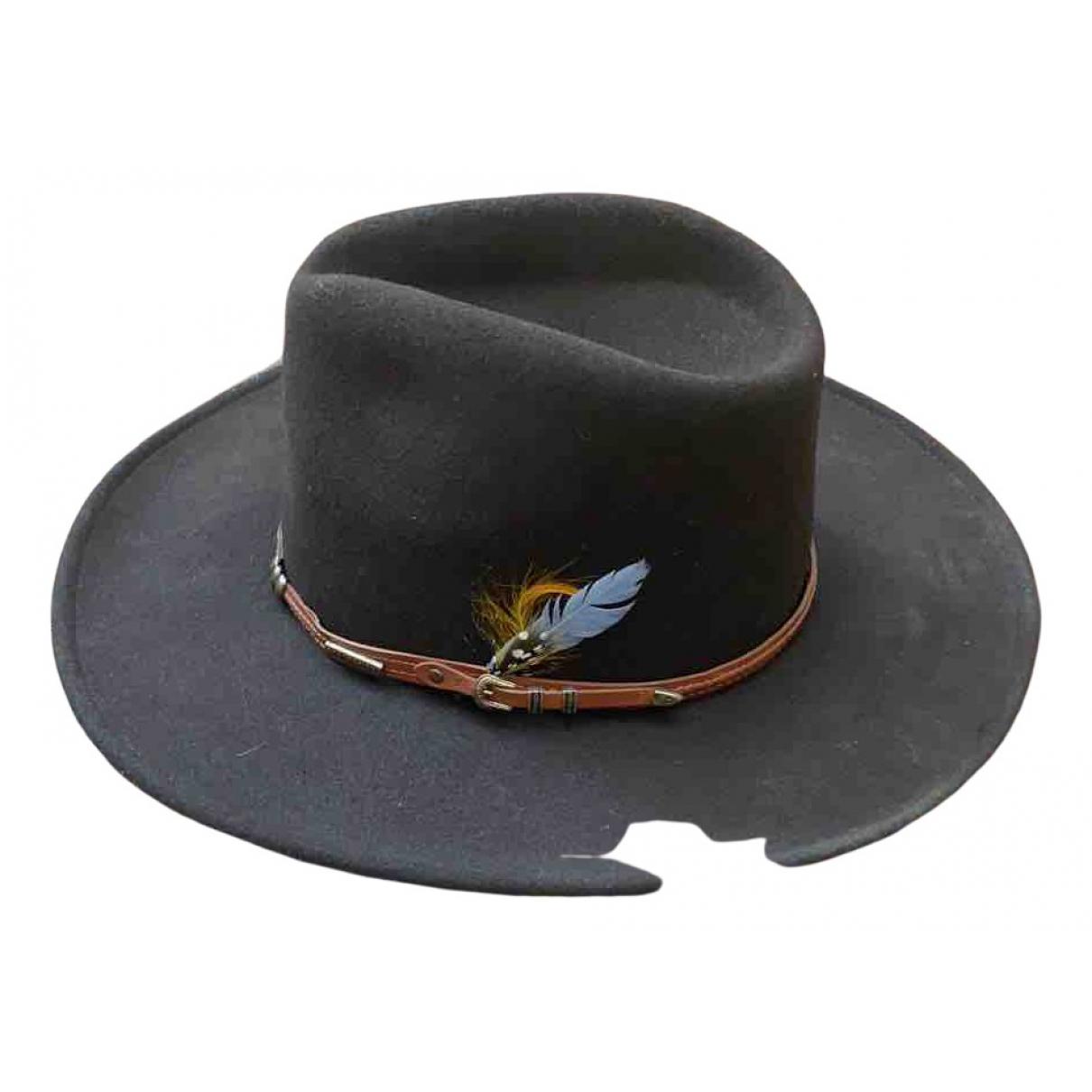 - Chapeau   pour femme en laine - kaki