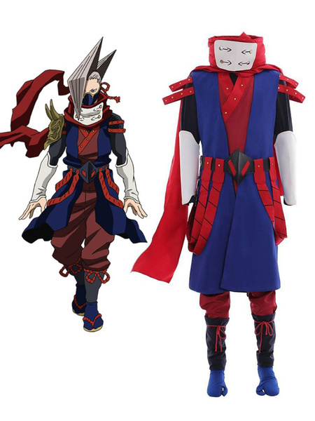 Milanoo My Hero Academia Cosplay Edgeshot BNHA Cosplay Costumes