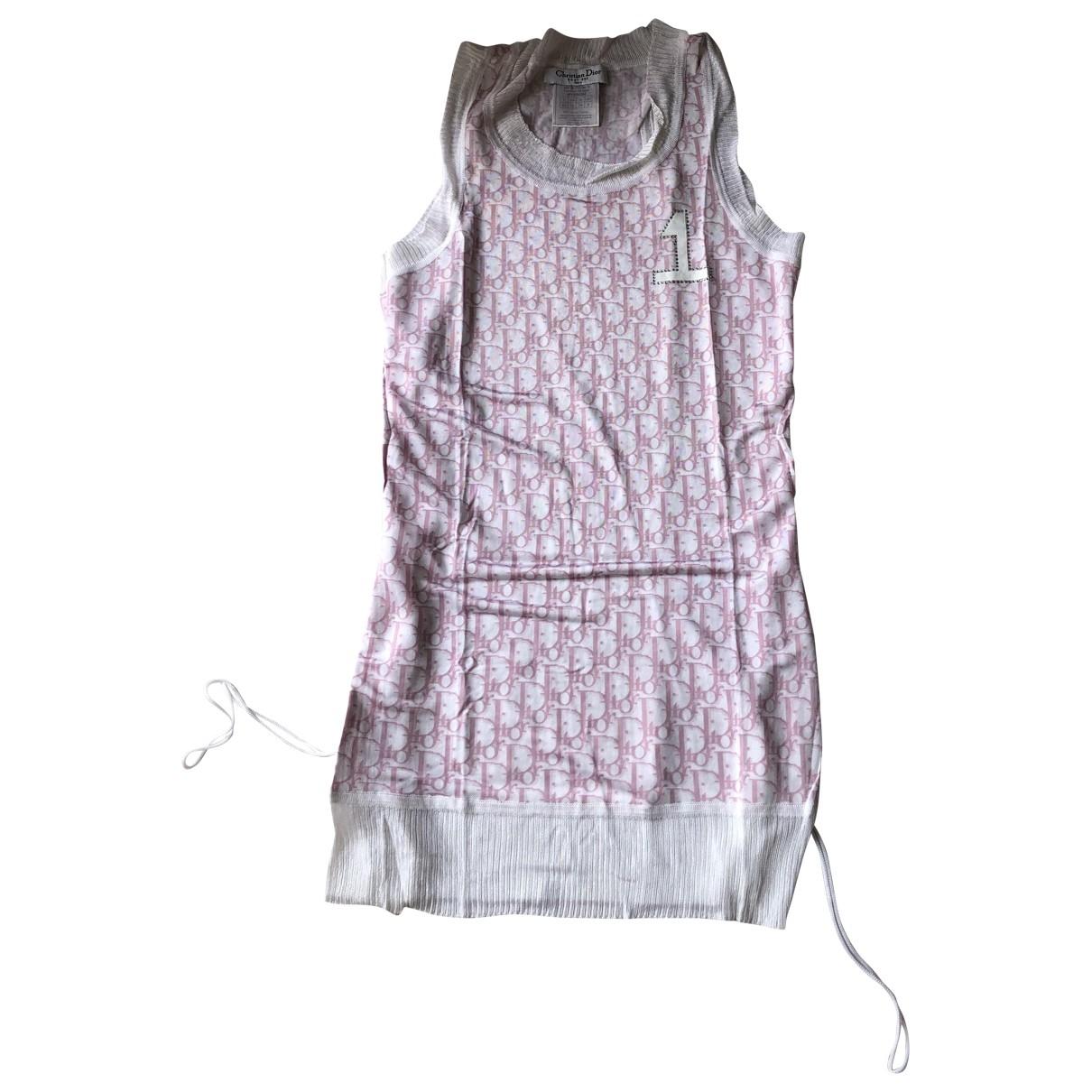 Christian Dior - Top   pour femme - rose