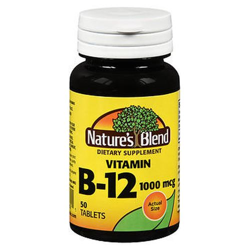 Natures Blend Vitamin B12 Tablets 50 Tabs by Natures Blend