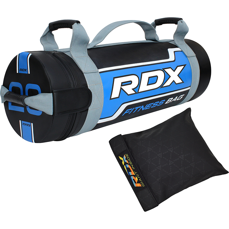 RDX FB Sac de Sable de Musculation  20KG Bleu Nylon