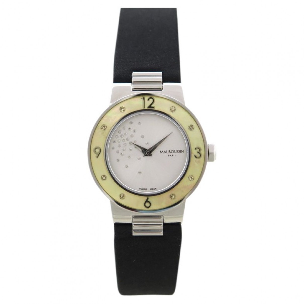 Mauboussin \N Silver Steel watch for Women \N