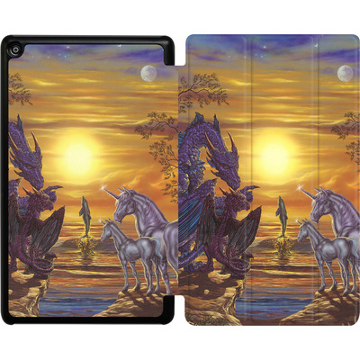 Amazon Fire HD 8 (2017) Tablet Smart Case - Ed Beard Jr - Mystical Occurance von TATE and CO