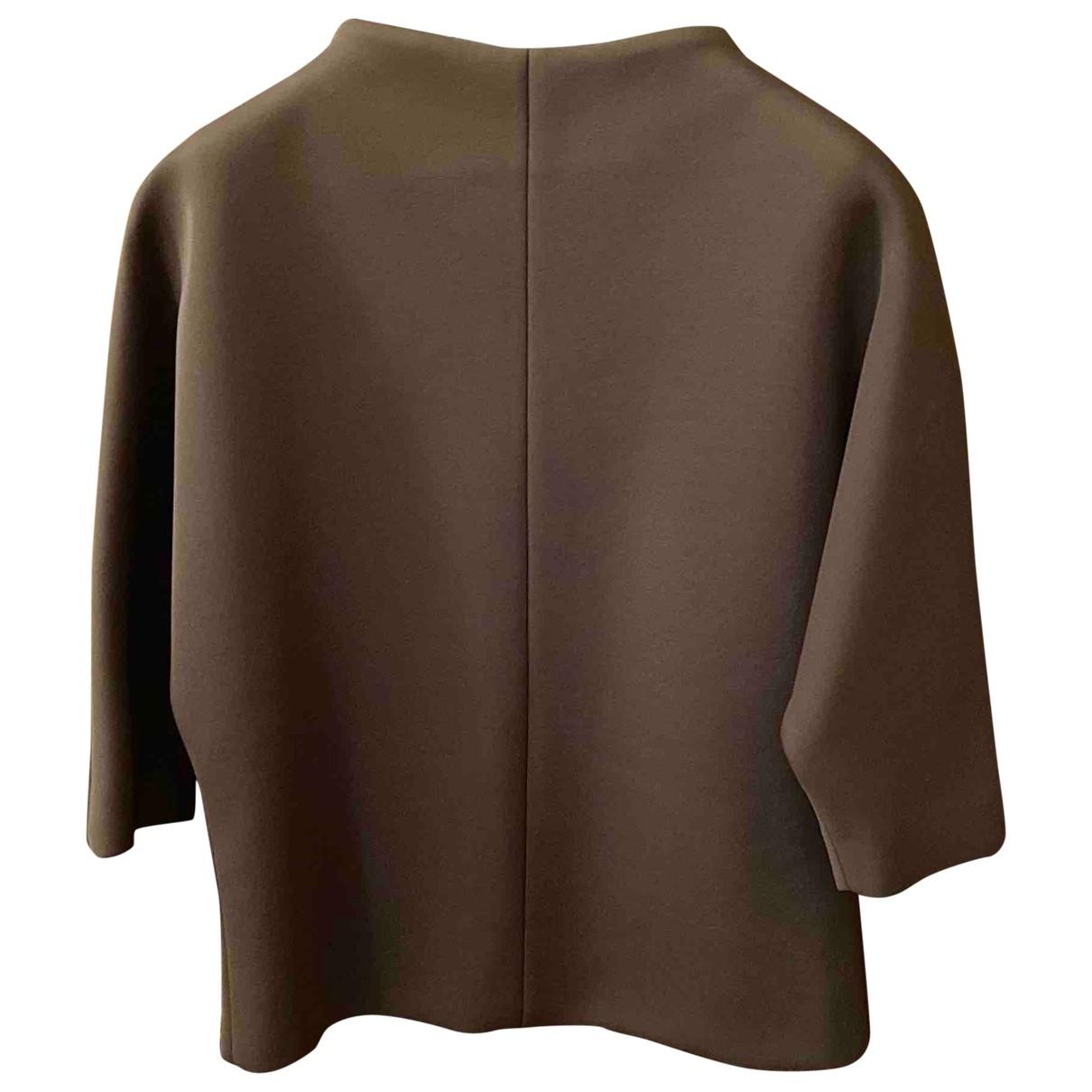 Marni \N Pullover in  Khaki Viskose