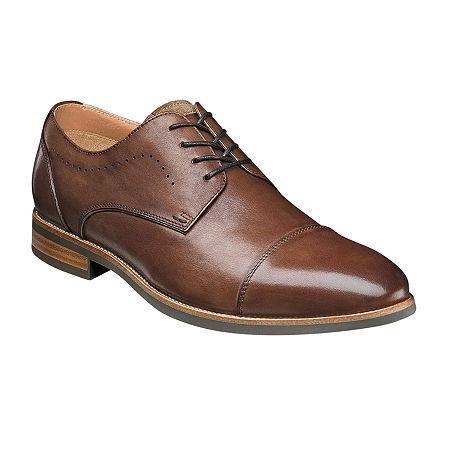 Florsheim Mens Upgrade Oxford Shoes, 12 Medium, Brown