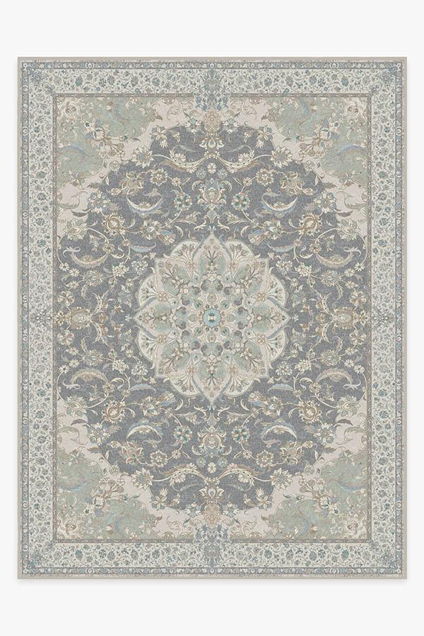 Washable Rug Cover & Pad | Sima Abalone Rug | Stain-Resistant | Ruggable | 9x12
