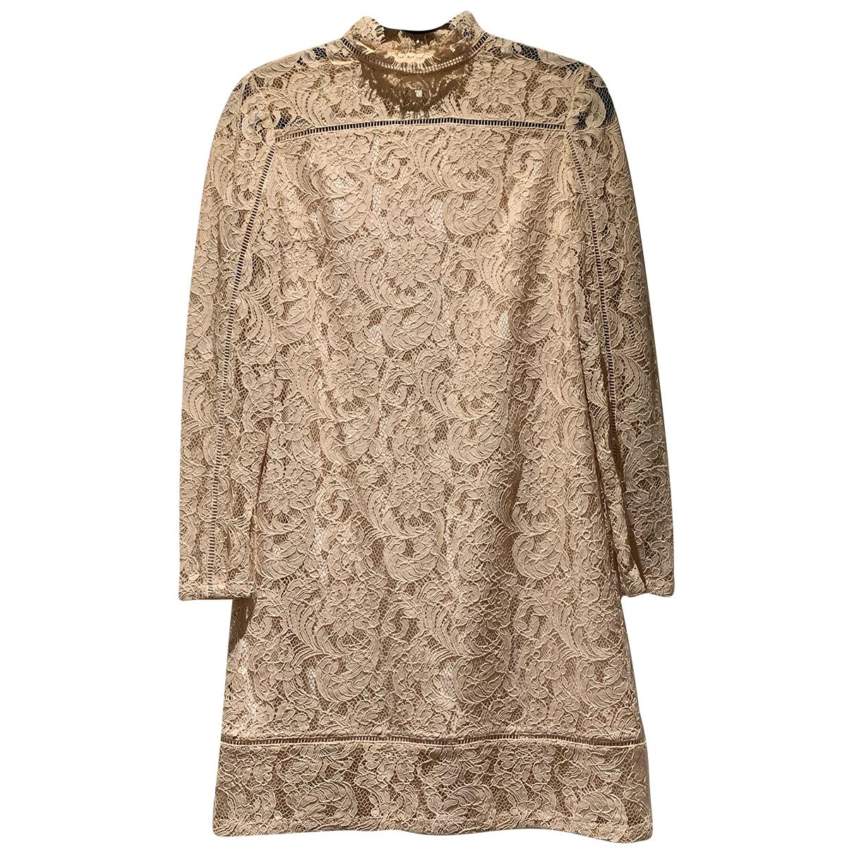 Reiss N Pink Lace dress for Women 10 UK