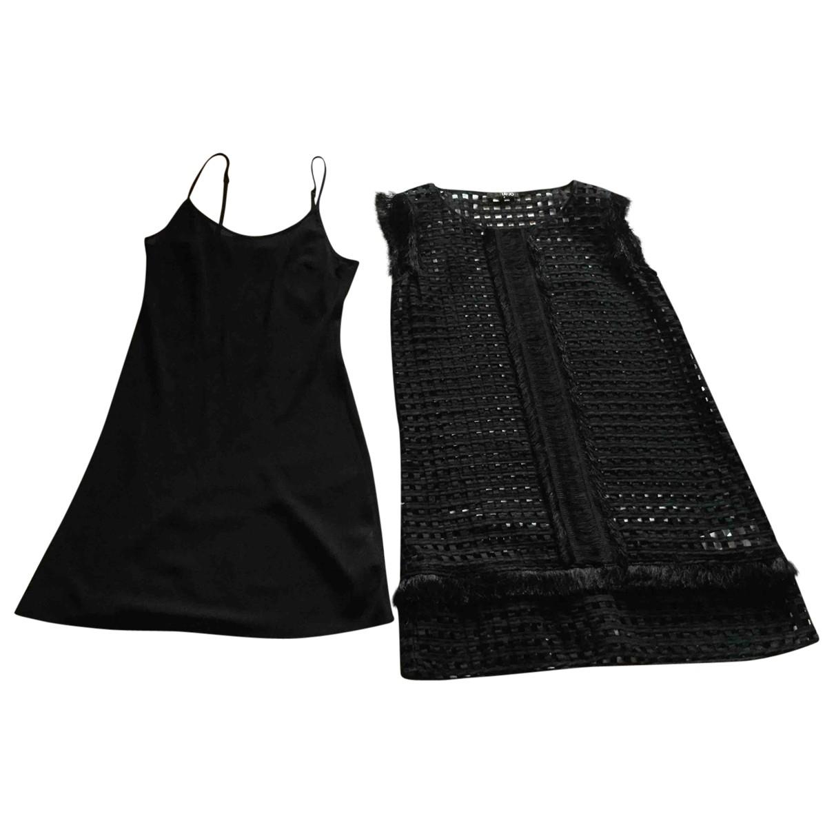 Liu.jo - Robe   pour femme en coton - noir