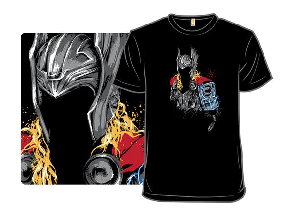 The Power Of Thunder T Shirt