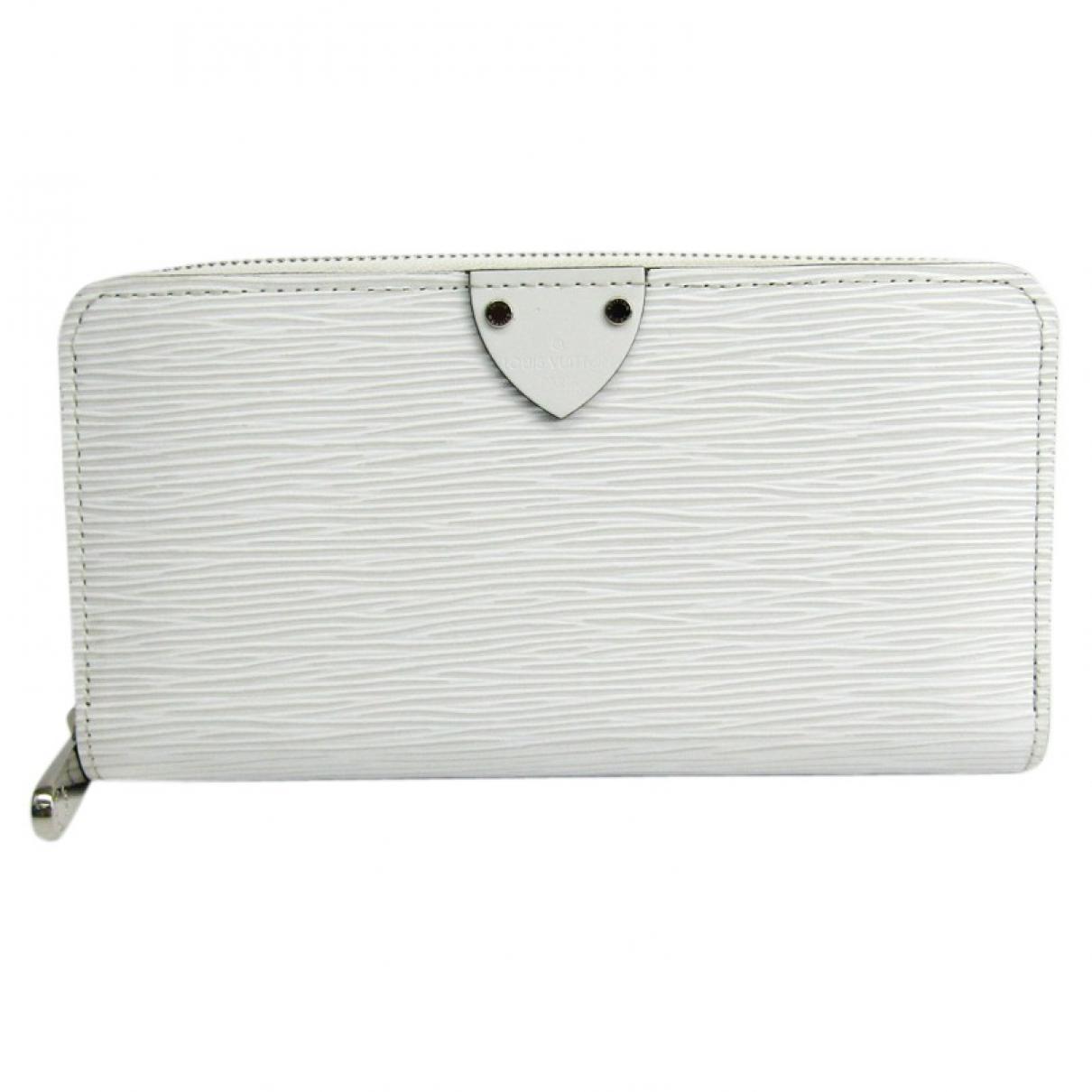 Louis Vuitton - Portefeuille   pour femme en cuir - blanc