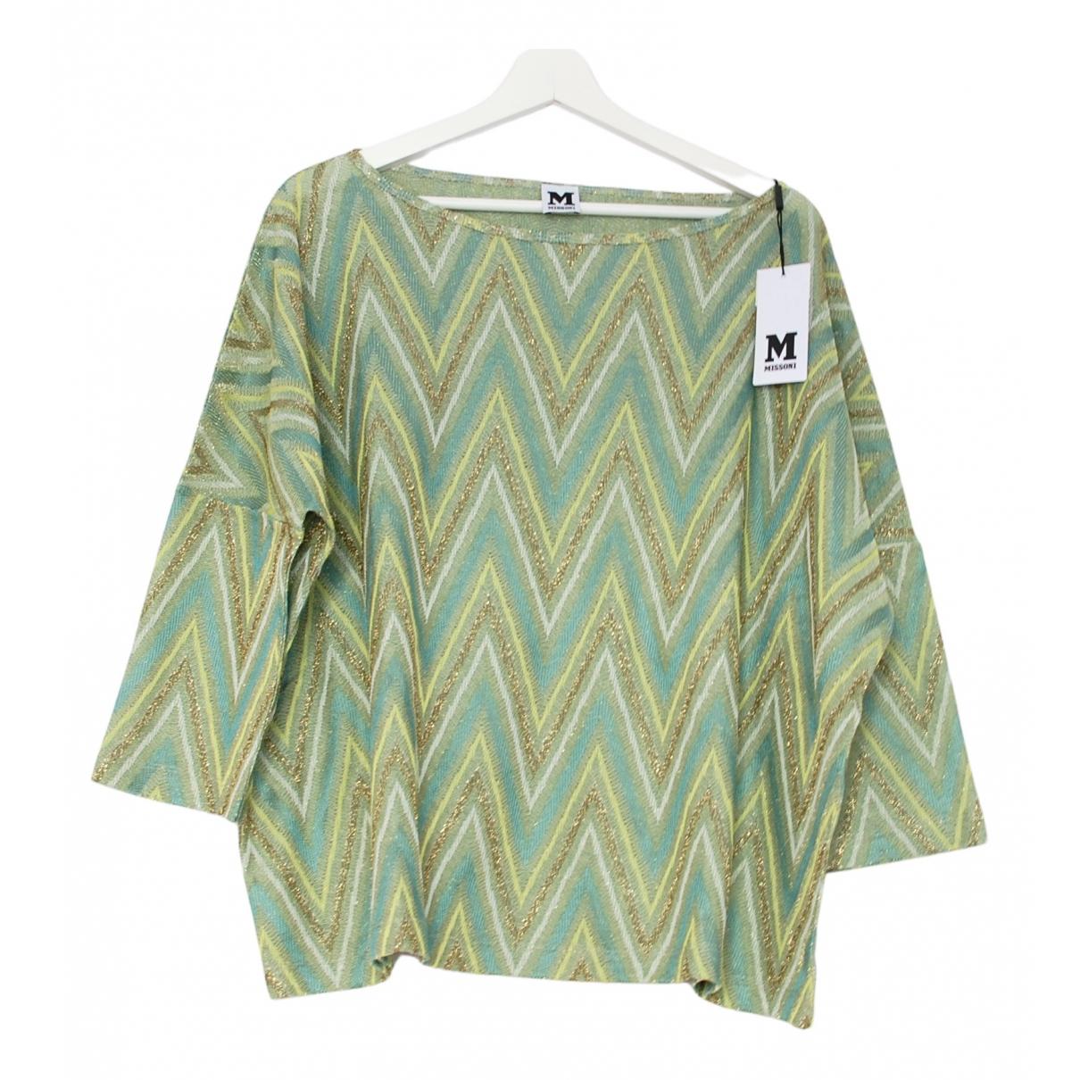 M Missoni N Multicolour Cotton  top for Women L International