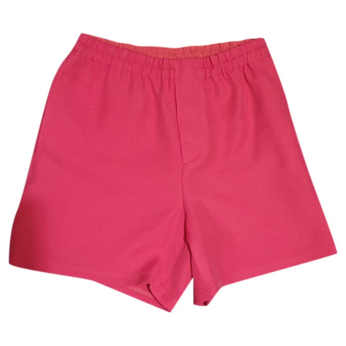 Gucci \N Pink Silk Shorts for Women 42 IT
