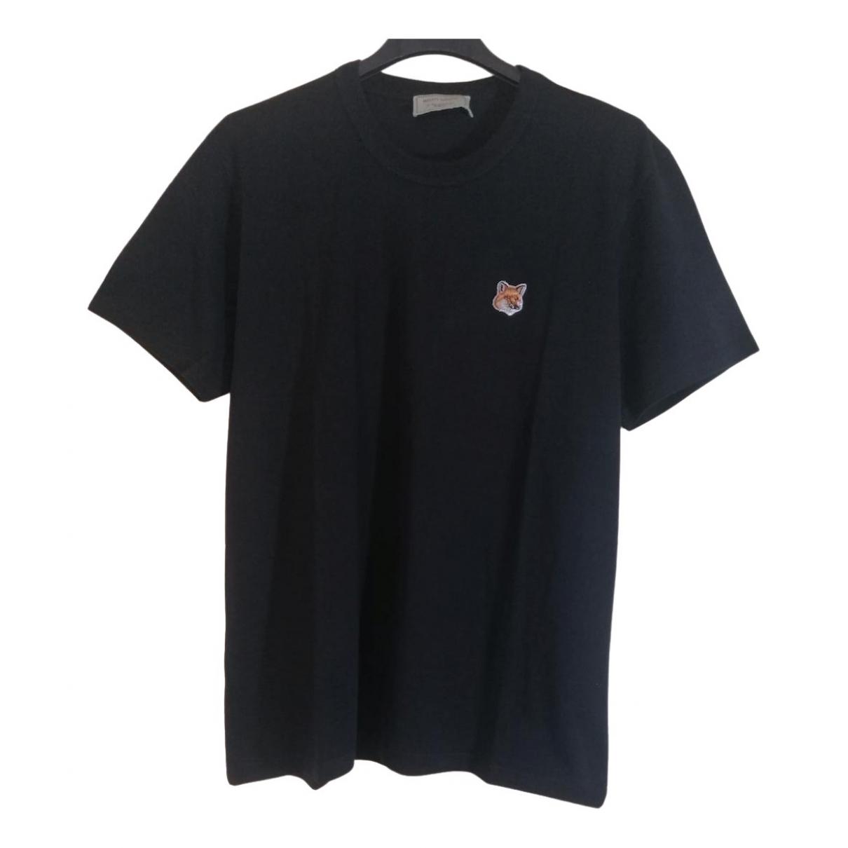 Maison Kitsune \N T-Shirts in  Schwarz Baumwolle