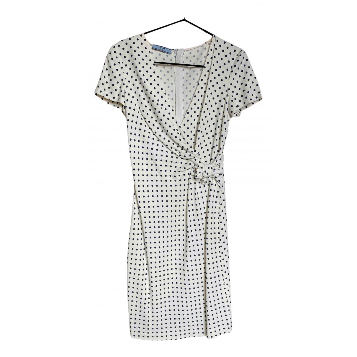 Prada - Robe   pour femme - blanc